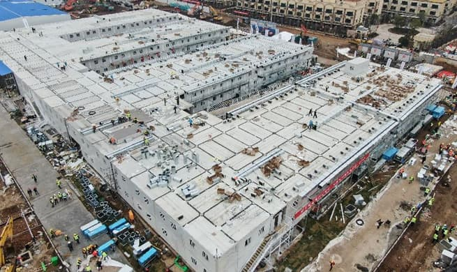 China builds new hospital in 10 days to 2019-nCoV new novel coronavirus