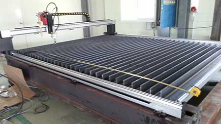 DRAGON III gantry cnc cutting machine customer cases
