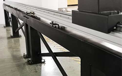 load-bearing support base.for CNC cutting table