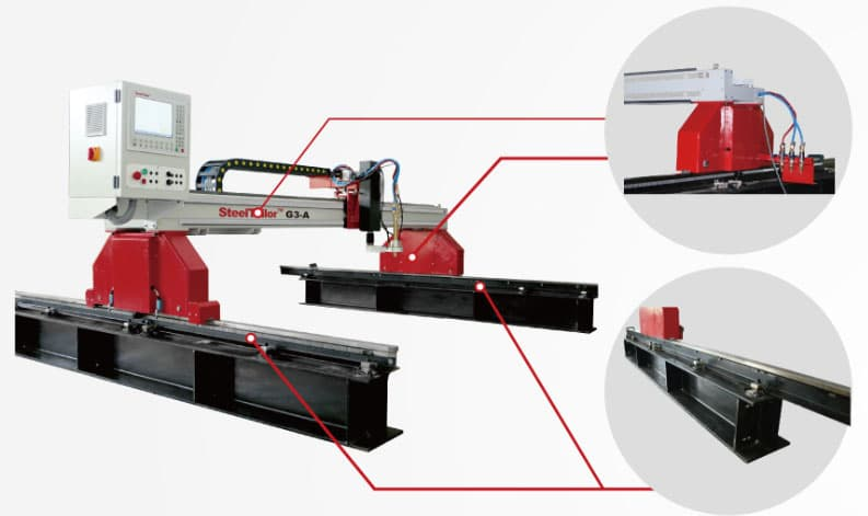 G3-A gantry CNC cutting machine