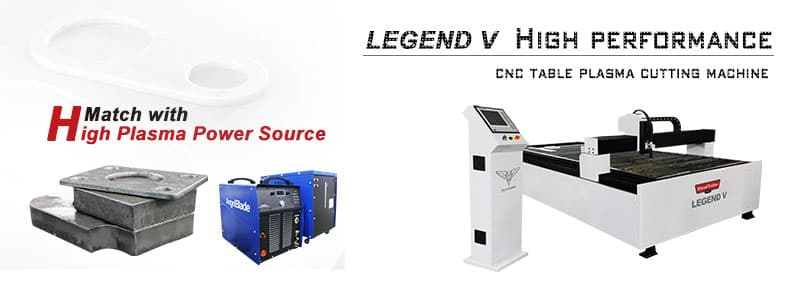 legend V cnc table plasma cutting machine